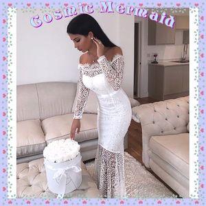 Dresses & Skirts - 🆕⭐️Lace Off Shoulder Wedding Mermaid Dress⭐️